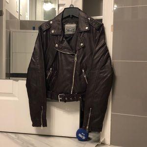 Women's Levis Faux Leather Jacket
